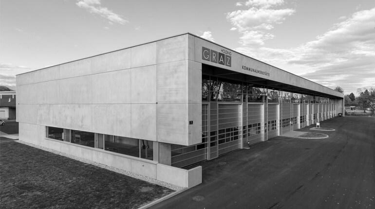 Kommunalwerkstätte der Holding Graz
